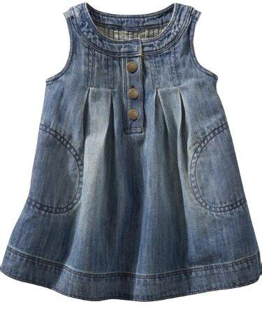 Ing Presents Imitate Neck Tie Look by Denim 7 Sweet Dresses For Your Baby