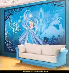 frozen wall mural decorating theme bedrooms maries manor frozen theme