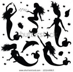 Vintage Baby Bathtub Mermaid Silhouette Stock Photos Images Amp Pictures
