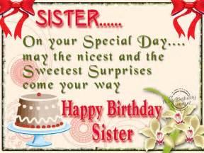 Happy Birthday Sis Quotes Happy Birthday To My Sister Quotes Quotesgram