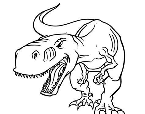 imagenes para festejar cumpleaños dibujo de dinosaurio enfadado para colorear dibujos net