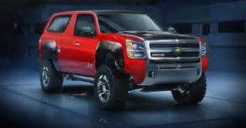 new 2016 chevy blazer k 5 price and concept carspoints