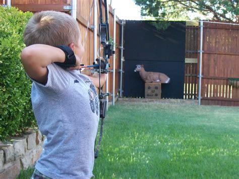 backyard archery diy shooting backstop do it your self