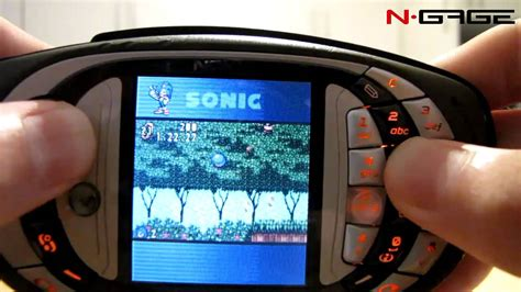 download themes for nokia n gage qd n gage qd sonicn gameplay youtube