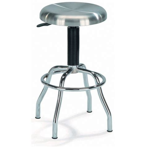 Stainless Steel Stools Shop New Spec Chrome Stainless Steel Adjustable Stool At