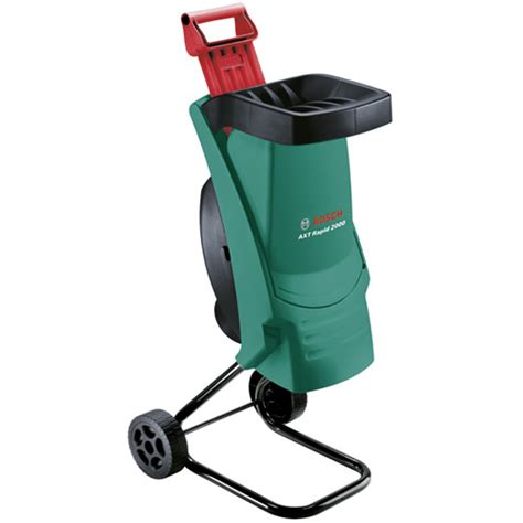 garten schredder bosch axt rapid 2200 electric garden shredder