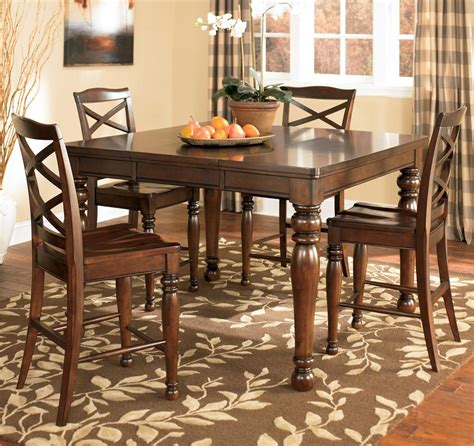 porter counter height table set furniture porter house d697 32 4x124 5