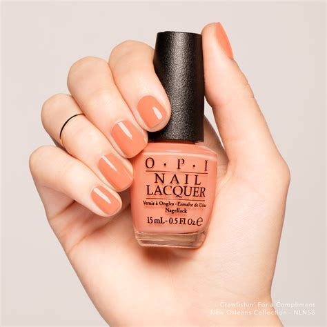 Opi Nail Colors by Crawfishin For A Compliment Nail Lacquer Opi