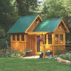 plans   cute  garden shedor
