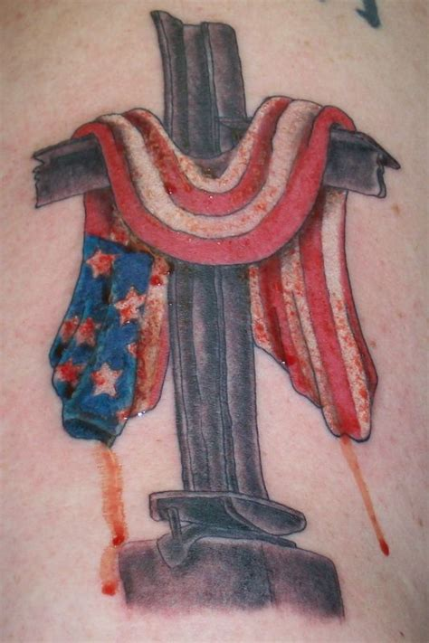 american flag cross tattoo american flag cross 97 flag design flash