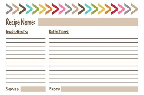 cute printable recipe cards free pin by jen stark on printables pinterest