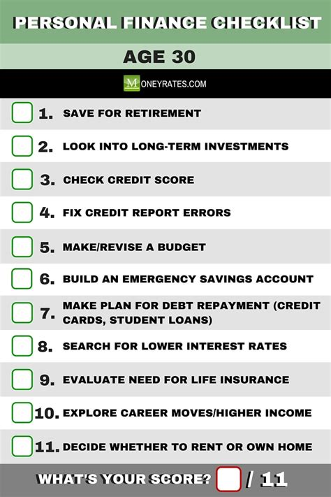 personal finance in your 20s and 30s for dummies books turning 30 see this personal finance checklist