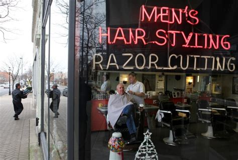 barber downtown lansing a look at selected region downtowns south suburban news