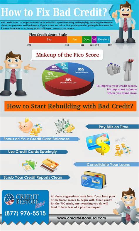 fix bad kredit how to fix bad credit credit repair