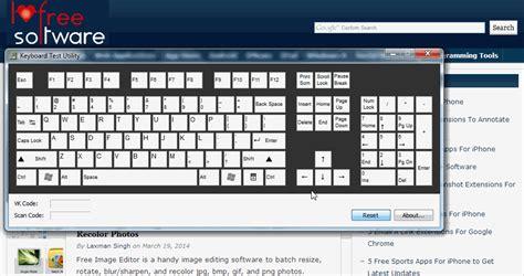 keyboard test free keyboard testing software to check keyboard