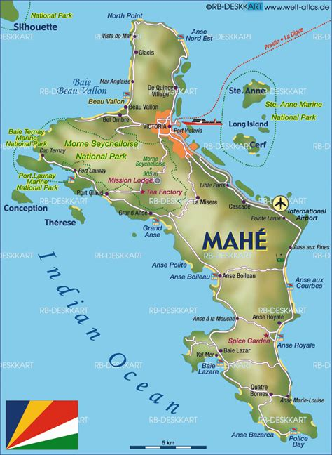 seychelles map mah 233 island roundtrip i seychelles