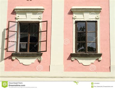 renaissance house music windows of renaissance house stock photo image 57840851