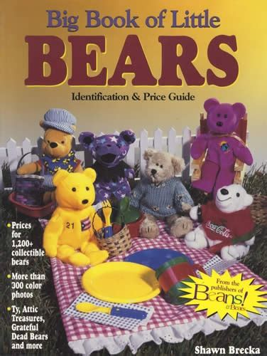 big book of little 1409569713 big book of little bears identification price guide