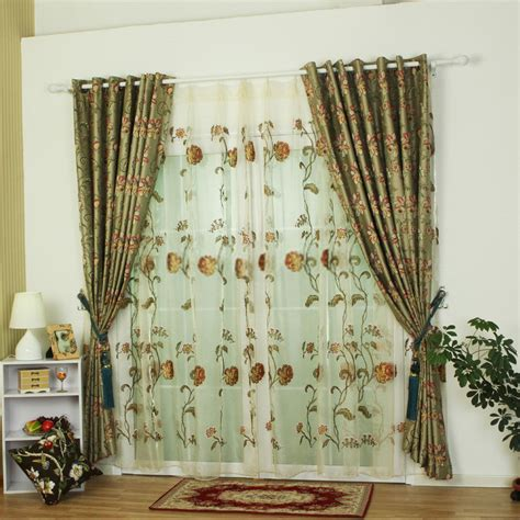 green bedroom curtains polyester fabric green curtains sale online for bedrooms