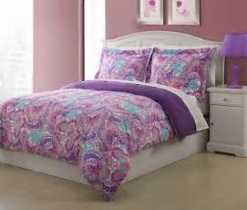 twin microfiber kids paisley butterfly bedding comforter