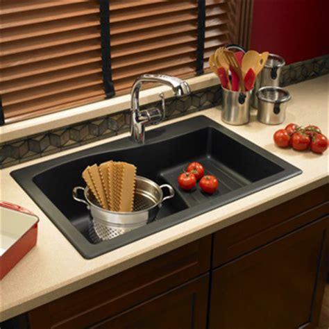 swanstone single bowl kitchen sink swanstone qzad 3322 077 large drop in ascend single bowl