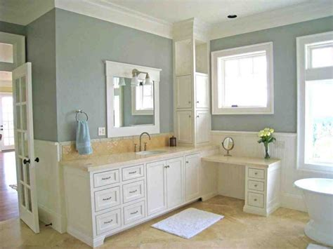 What Color To Paint Bathroom Cabinets by Bathroom Cabinet Paint Colors Home Furniture Design