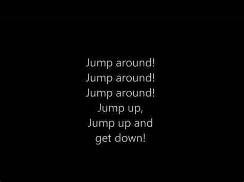 house of pain jump around lyrics house of pain jump around lyrics youtube