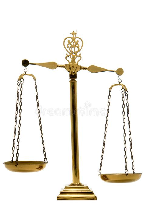 Brass Balance Scale Of Justice And Law Isolated Royalty ... Law Scale Of Justice