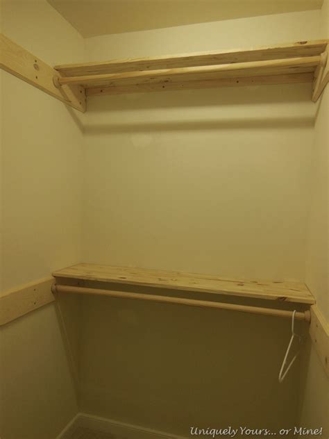 How To Remove Closet Shelving removing wire shelving uniquely yours or mine