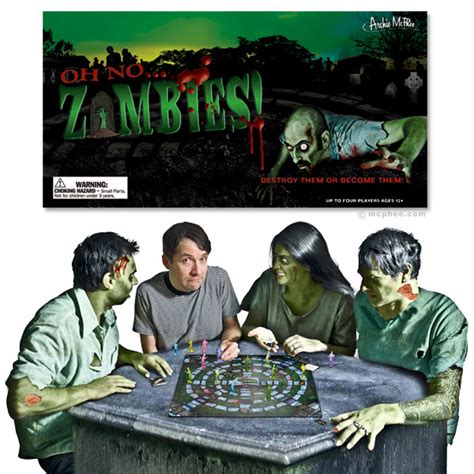 Oh NoZombies! Board Game