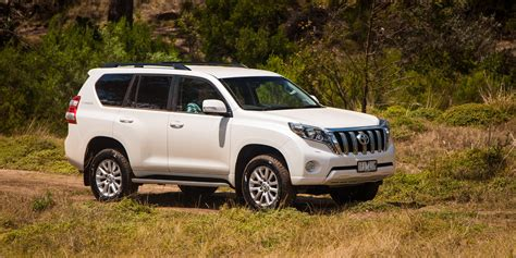 toyota land cruiser prado 2016 toyota landcruiser prado vx review term report