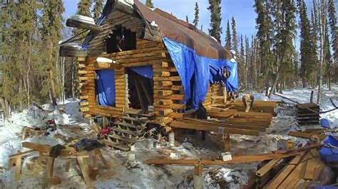 decked  remote alaska cabin part  youtube
