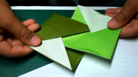 How To Make Coasters Out Of Paper - how to make an origami coaster take 2