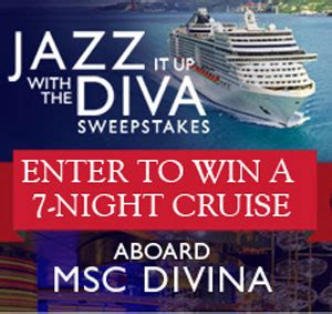 American Sweepstakes - jazz it up with the diva american sweepstakes