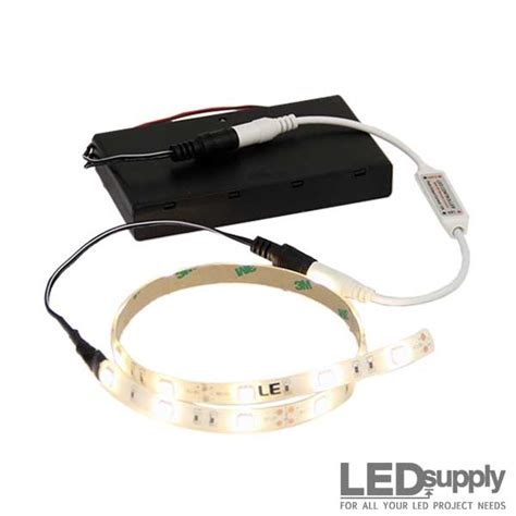 battery led light strips battery operated led light