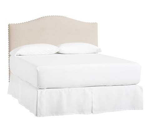 Upholstered Headboards Nc by Raleigh Upholstered Camelback Low Bed Headboard