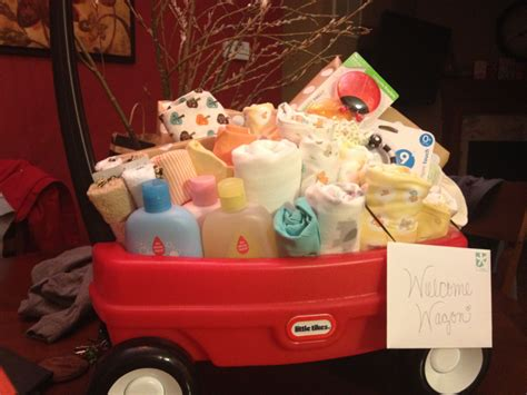Baby Shower Welcome Wagon by Welcome Wagon Baby Shower Gift Made It For One Of The