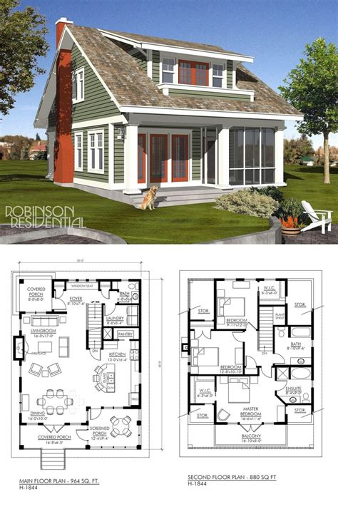 Prairie Style House Design 100 sloped lot house plans small lake home with open floor