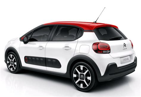 Citroen C3 2017 by 2017 Citroen C3 Revealed With Funky Design