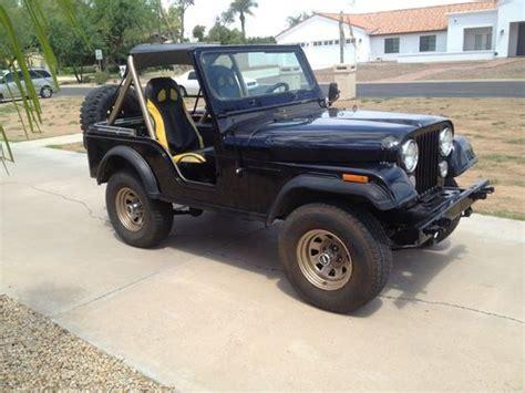 Used Jeeps For Sale In Az Find Used 1981 Jeep Cj5 Rust Free Az Jeep In Scottsdale