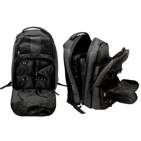 tattoo travel case black back pack homie gear stealth heavy duty