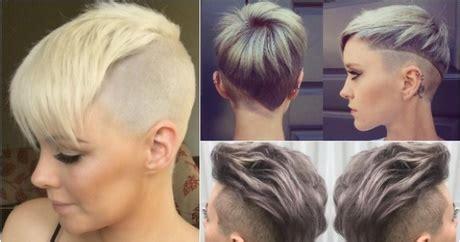 krtkie fryzury 2017 irokez wygolone boki undercut kr 243 tkie fryzury damskie 2018 wygolone
