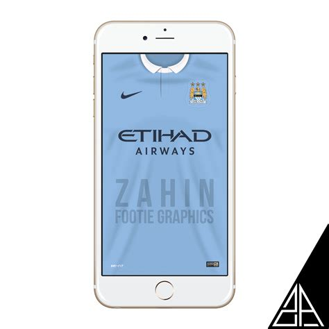 Iphone 7 Atletico Madrid Home Nike Hardcase manchester city 2015 16 zahin footie graphics