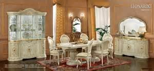 salle 224 manger italienne leonardo salle 224 manger meuble