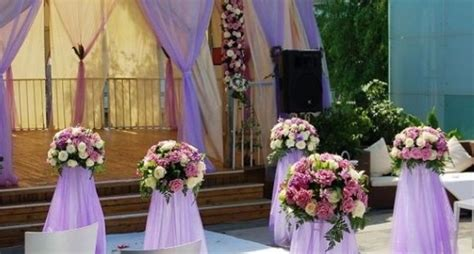 decoration themes for wedding purple wedding reception decoration ideas