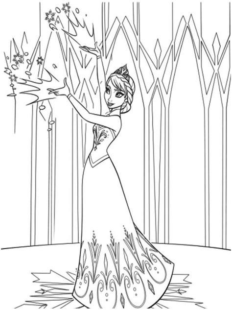 Gambar Mewarnai Istana Frozen Terbaru 2018 | gambarcoloring