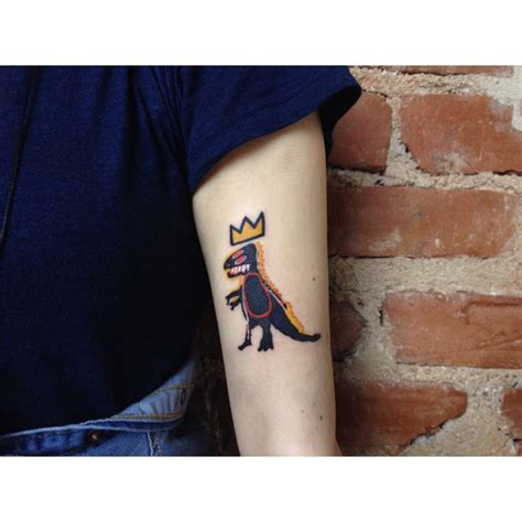 basquiat tattoo 66 best images about on