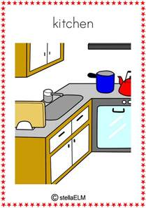 Vocabulary flash cards victorian kitchen vocabulary flash cards images frompo