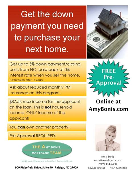 how to get down payment assistance on a fha home loan down payment assistance the amy bonis mortgage team