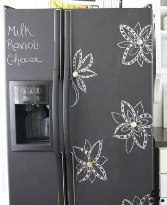 chalkboard paint cheap chalkboard refrigerator paint smart for a cheap fridge